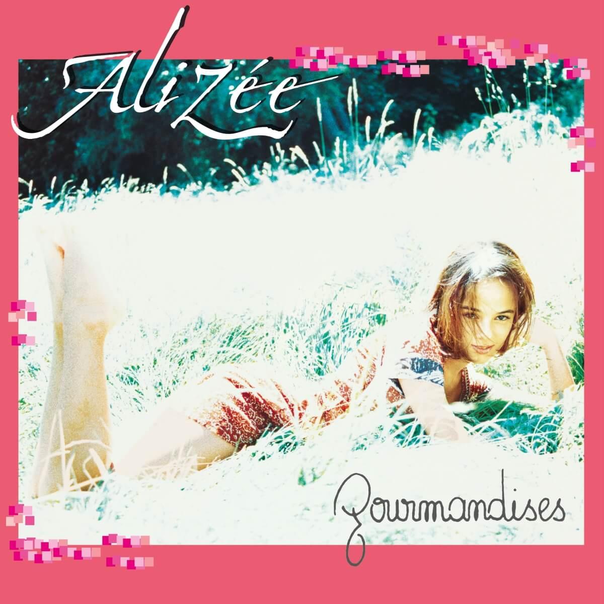 Alizée Album Cover Gourmandises