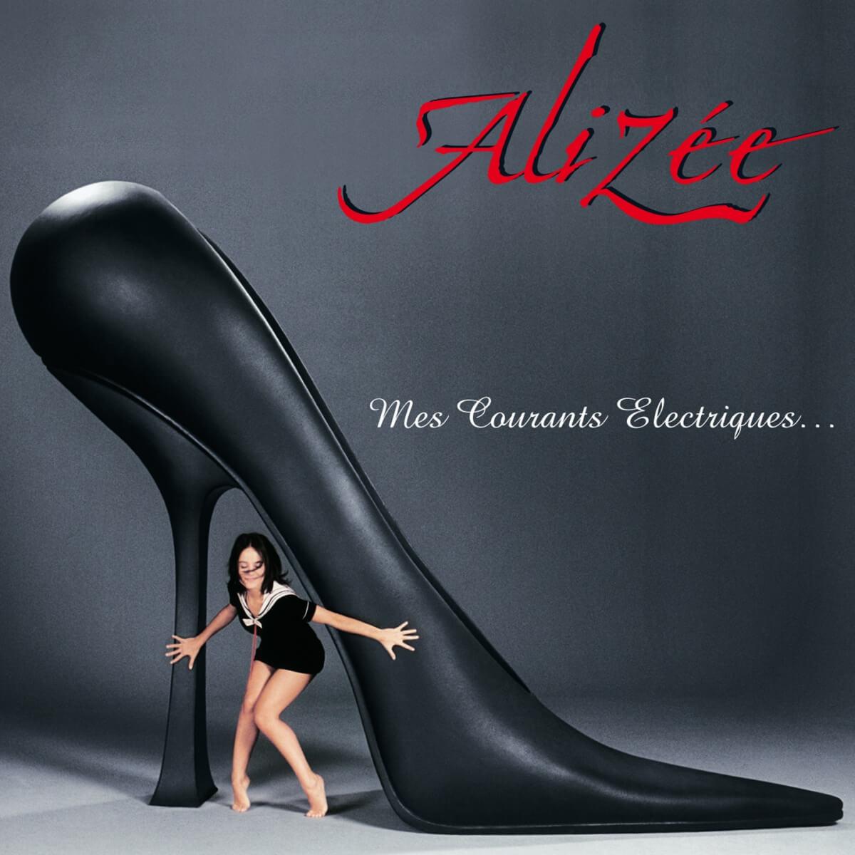 Alizée Album Cover Mes Courants Électriques