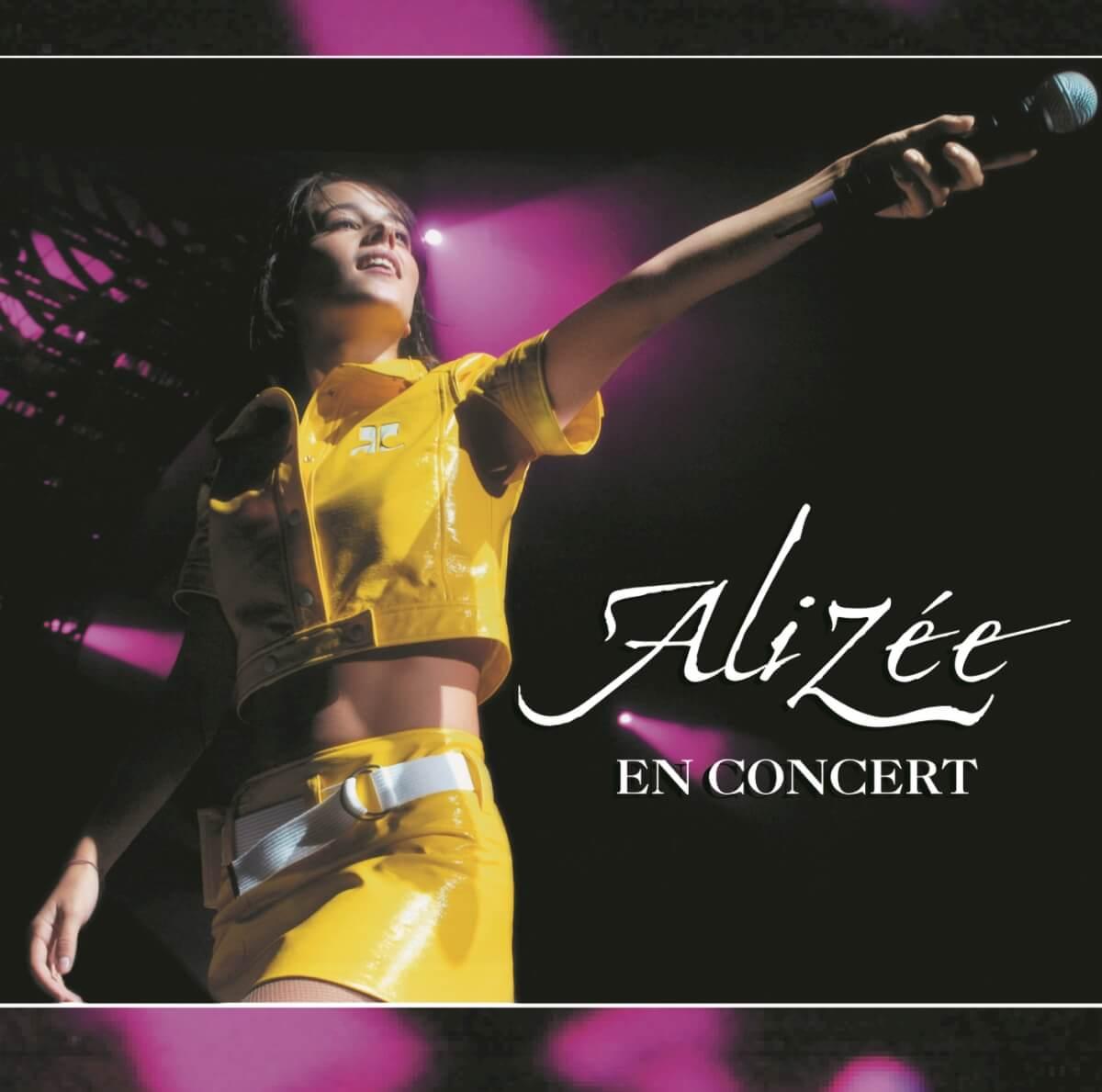 Alizée En Concert Album Cover